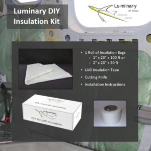 Luminary DIY Aircraft Insulation Kit