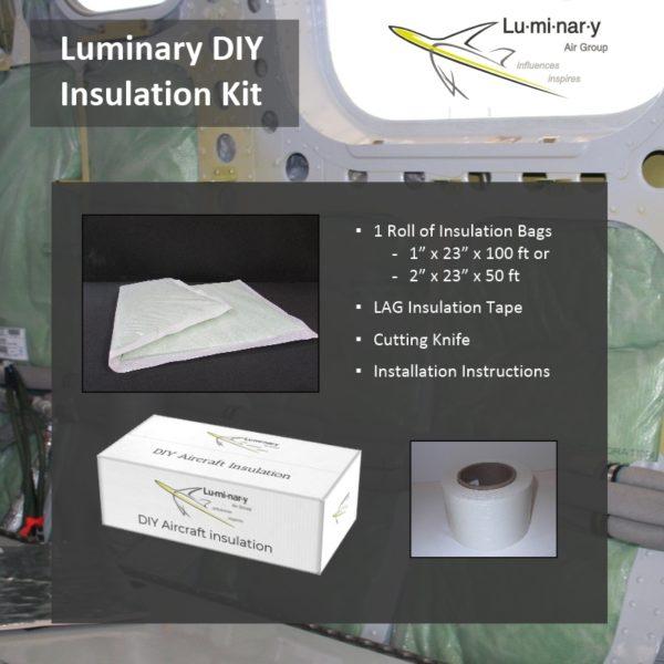 Luminary DIY Aircraft Insulation Kit